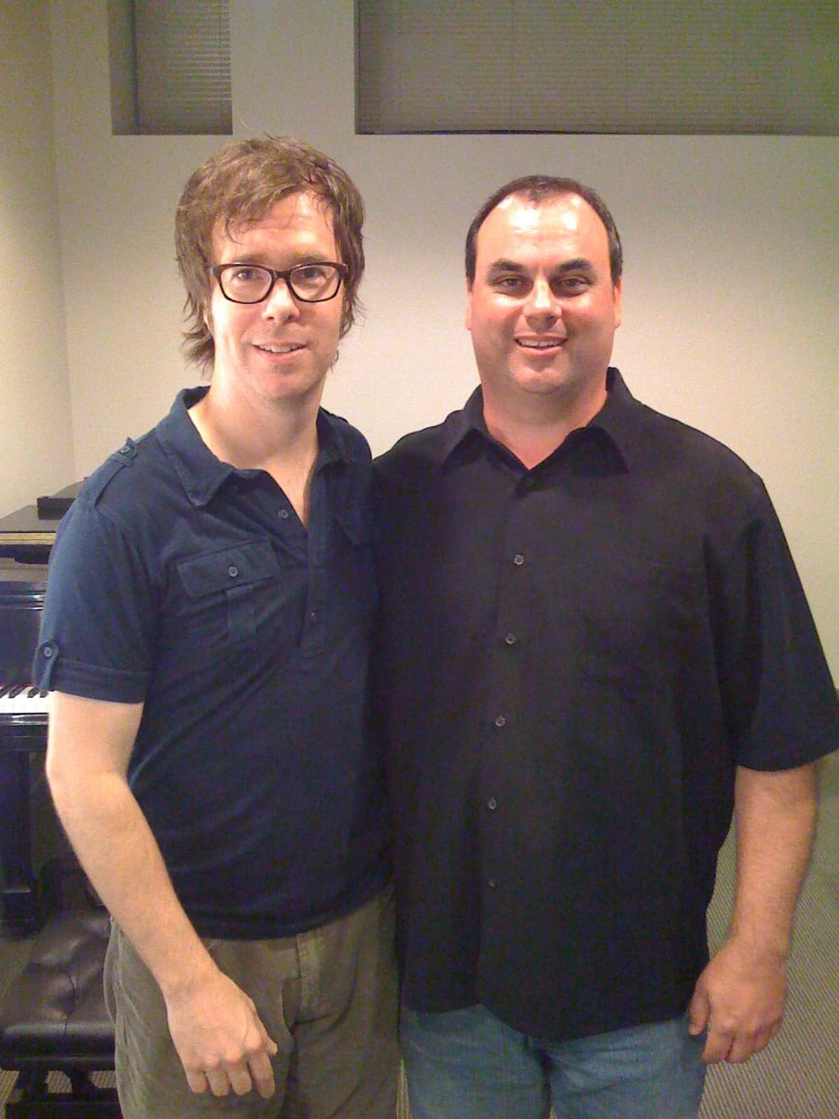 Jim with Ben Folds