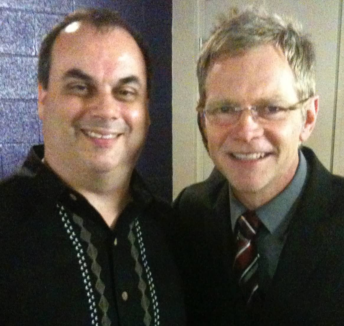 Jim Grey with Steven Curtis Chapman